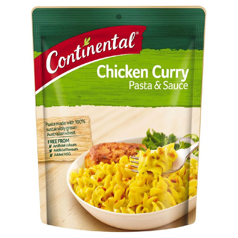 Continental Pasta and Sauce Chicken Curry 90g, , hi-res