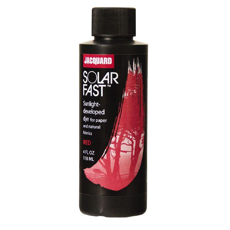 Jacquard Solarfast Dye 118.29ml Red, , hi-res