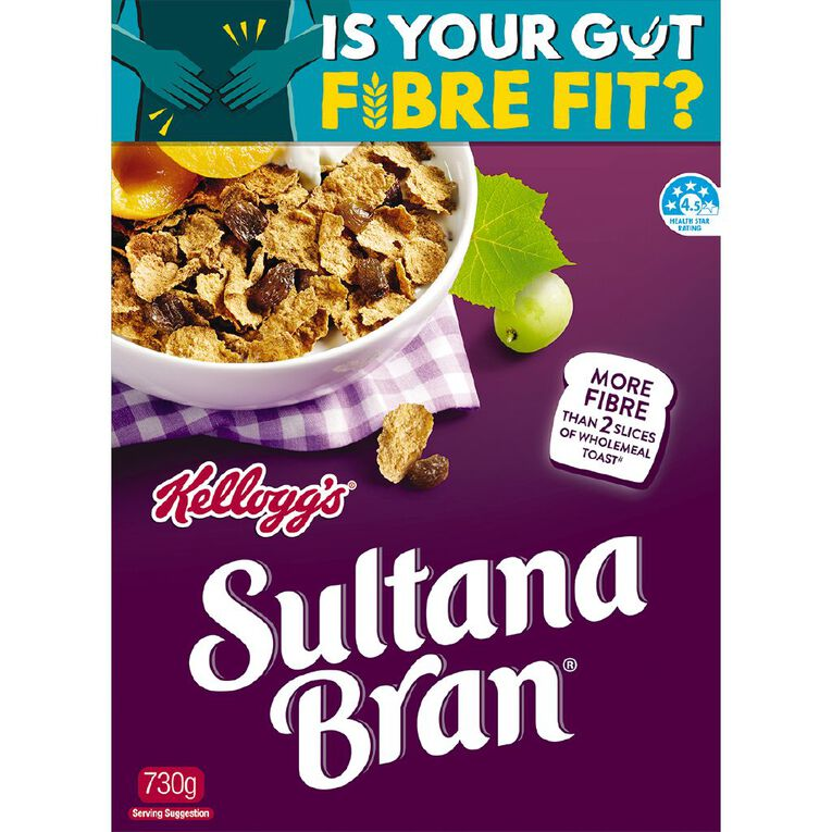 Kelloggs Sultana Bran Cereal 730g, , hi-res image number null