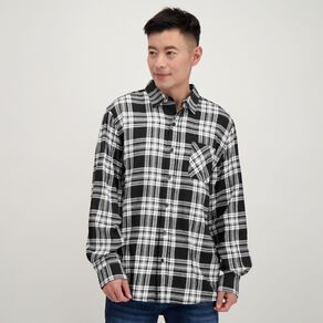 H&H Long Sleeve Flannelette Shirt