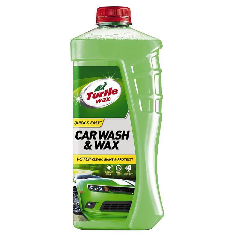Turtle Wax Wash & Wax 1L, , hi-res