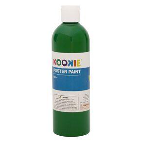 Kookie Poster Paint Green 500ml