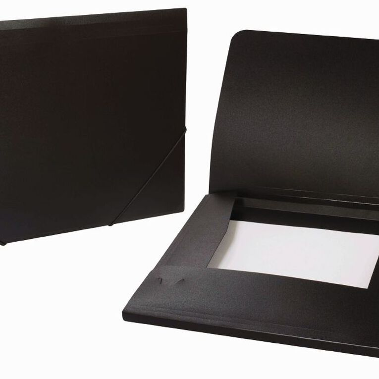 WS Wallet PP Elastic Black A4, , hi-res