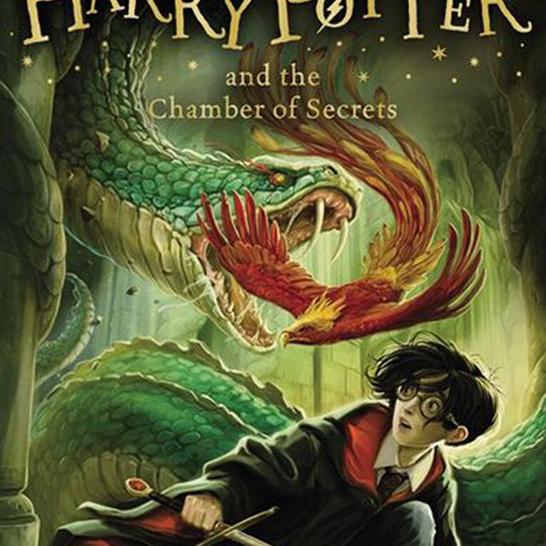 Harry Potter #2 The Chamber of Secrets by JK Rowling, , hi-res