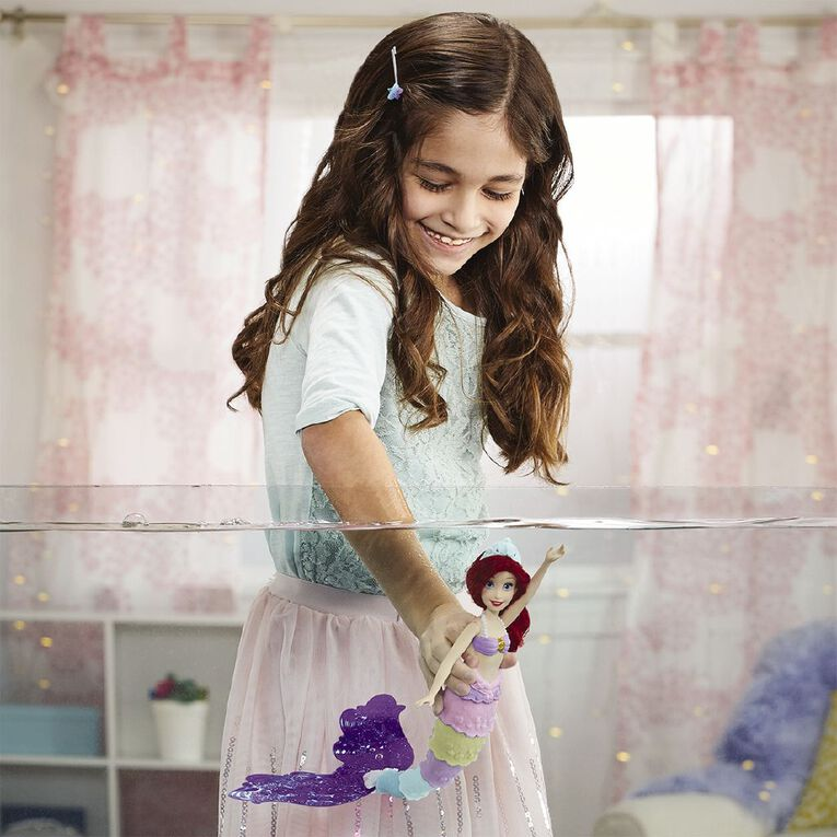 Disney Princess Rainbow Reveal Ariel, , hi-res