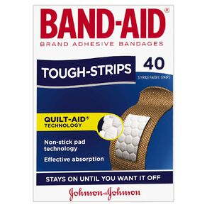 Band Aid Tough Strips