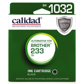 Calidad Brother LC233/231 Black