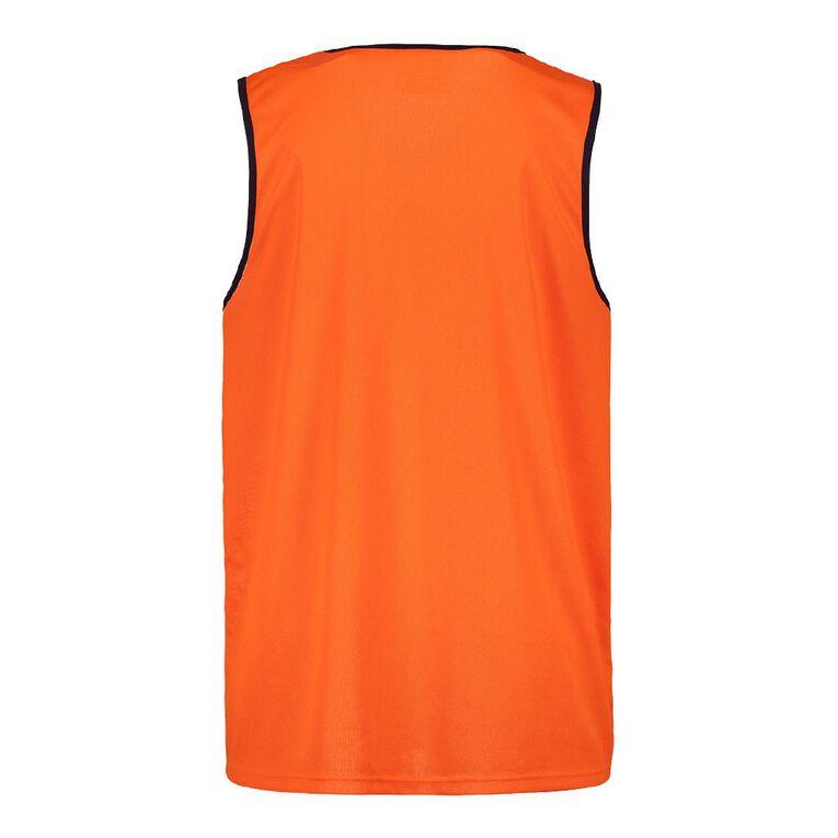 Rivet Compliant Fluoro Singlet, Orange, hi-res