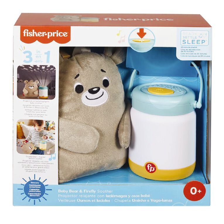 Fisher-Price Calming Cub & Firefly Soother, , hi-res