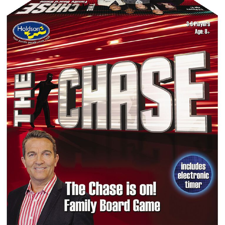 The Chase UK Board Game, , hi-res