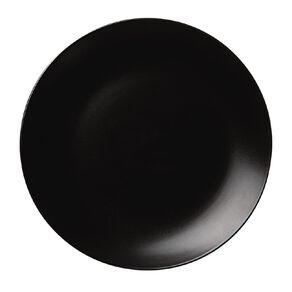Living & Co Matte Coast Dinner Plate Black 27cm