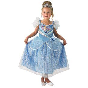 Disney Cinderella Shimmer Costume Size 6-8 Years