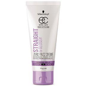 Schwarzkopf Extra Care Straight & Glossy Zero Frizz Creme 70g