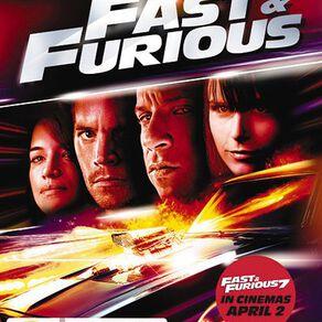 Fast & Furious 4 DVD 1Disc