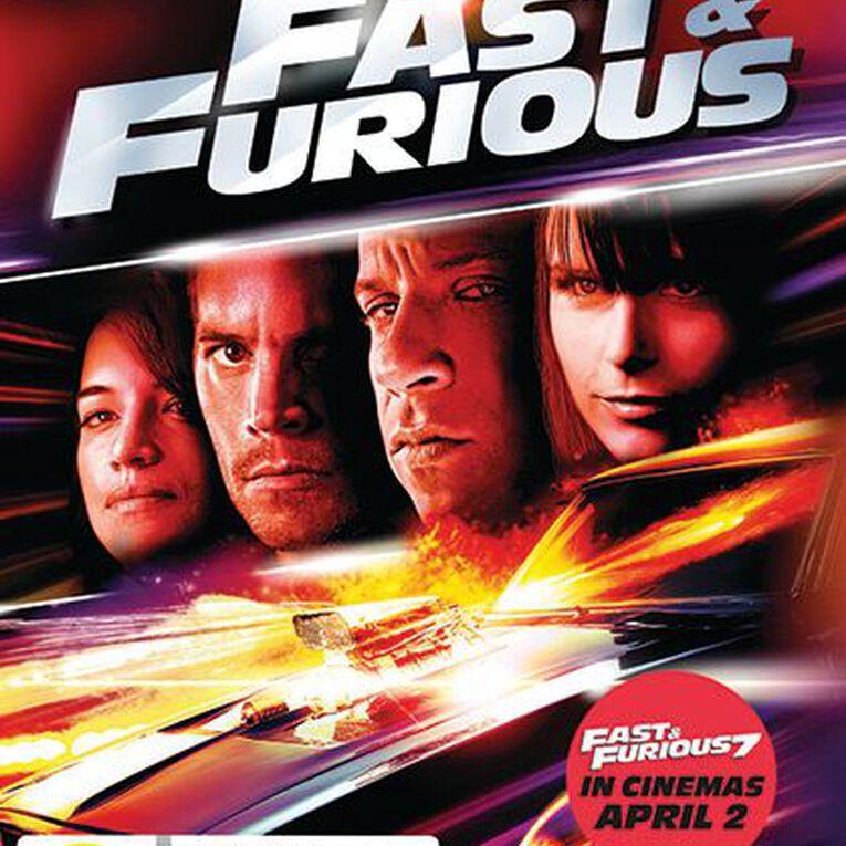 Fast & Furious 4 DVD 1Disc, , hi-res