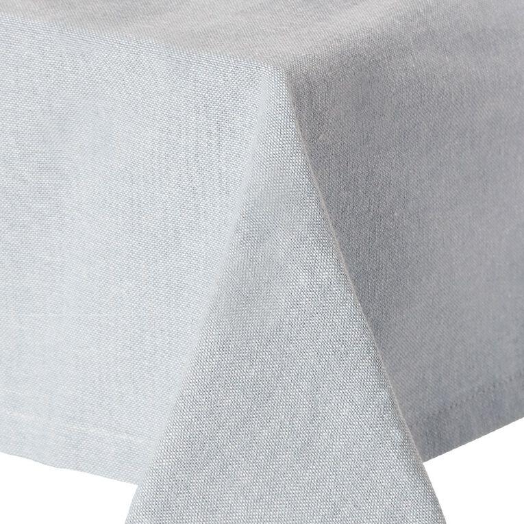 Living & Co Cotton Tablecloth 150cm x 220cm Blue, , hi-res