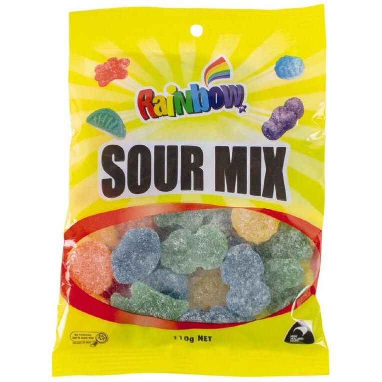 Rainbow Sour Mix 110g, , hi-res