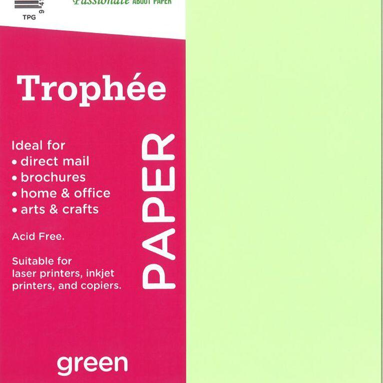 Trophee Paper 80gsm 30 Pack Green A4, , hi-res