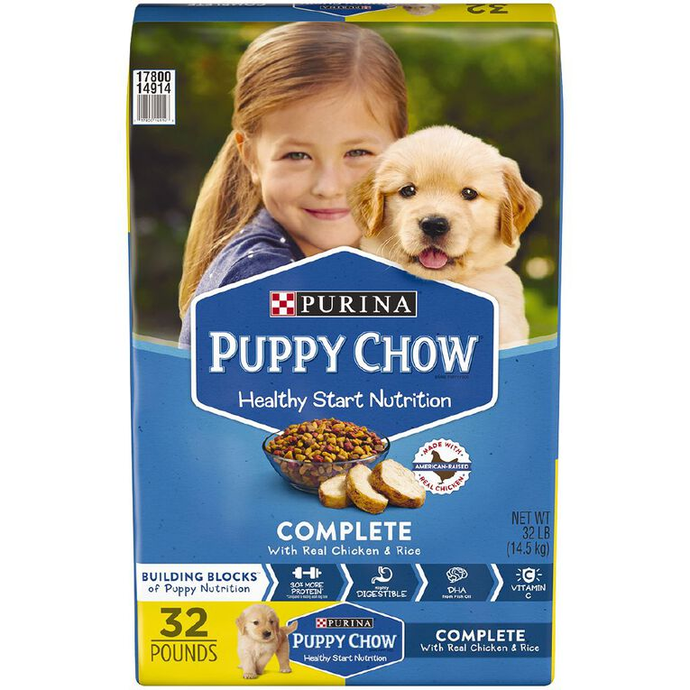 Purina Puppy Chow Complete & Balanced 14.5kg, , hi-res