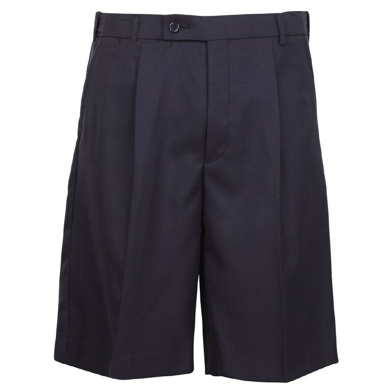 Schooltex Boys' Summer Shorts, Navy, hi-res