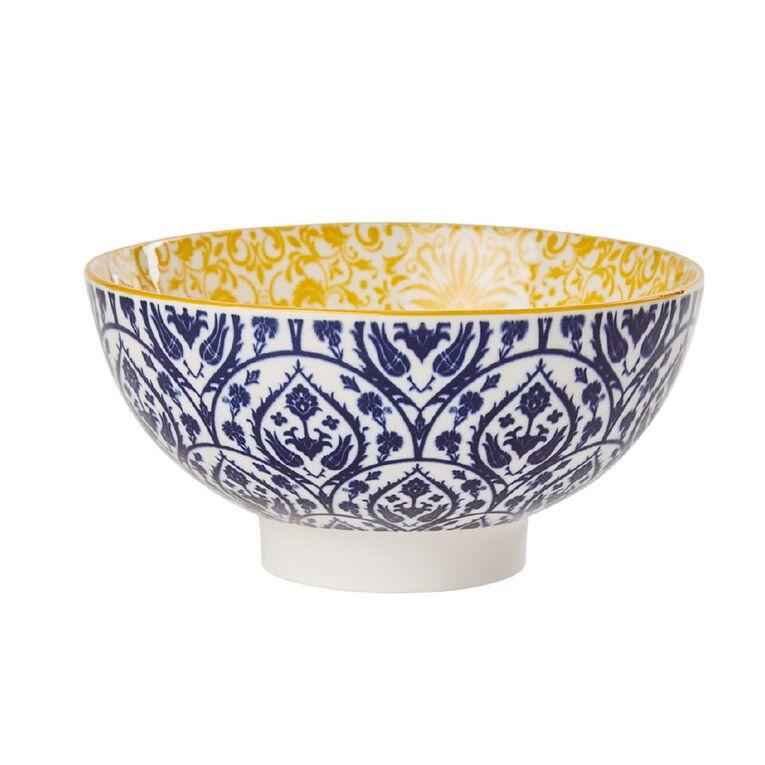 Living & Co Global Moroccan Floral Bowl Multi-Coloured, , hi-res