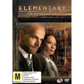 Elementary Season 5 DVD 6Disc