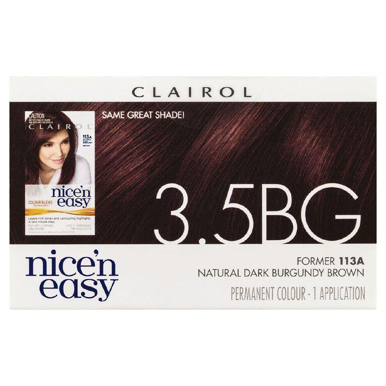 Nice 'n Easy Dark Burgundy 3.5BG (former 113A), , hi-res