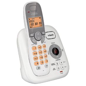 Vtech FS6424A Cordless Phone Answer Machine White