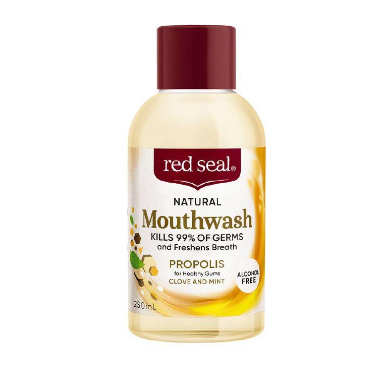 Red Seal Natural Mouthwash Propolis 250ml, , hi-res