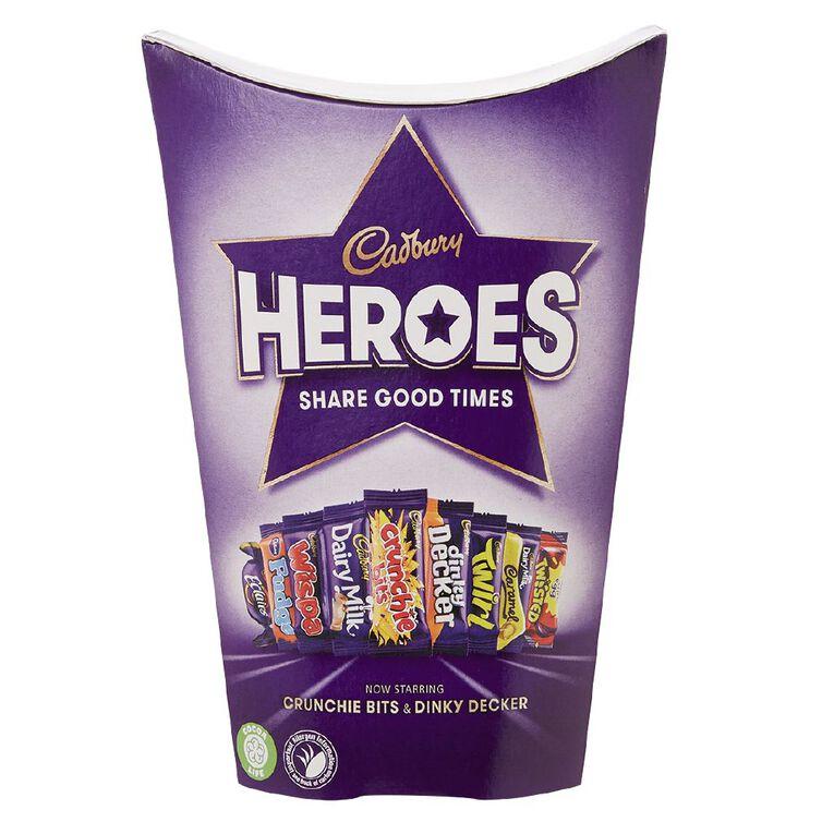 Cadbury Heroes Carton 185g, , hi-res