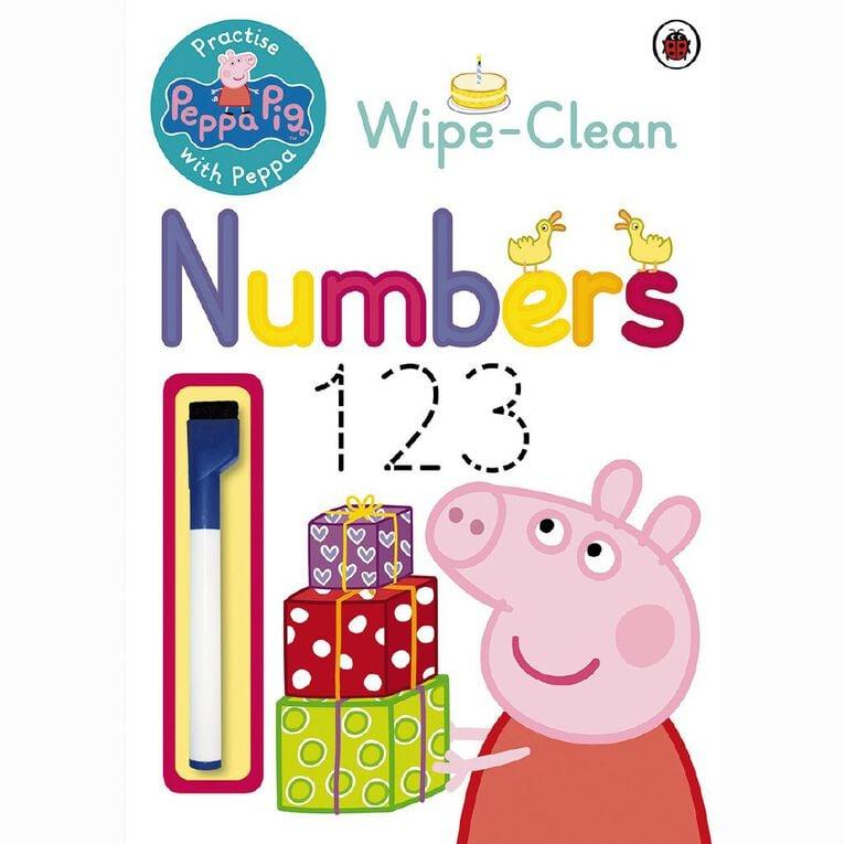 Peppa Pig: Practise with Peppa Wipe-Clean Numbers by Ladybird, , hi-res