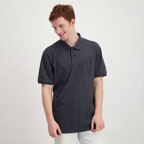 H&H Men's Plain Pocket Polo