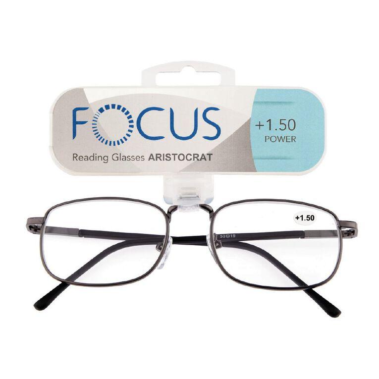 Focus Reading Glasses Aristocrat Power 1.50, , hi-res