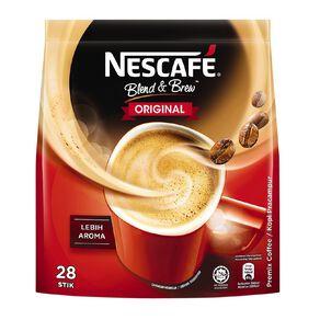 Nescafe Blend and Brew Original 25 Sachets
