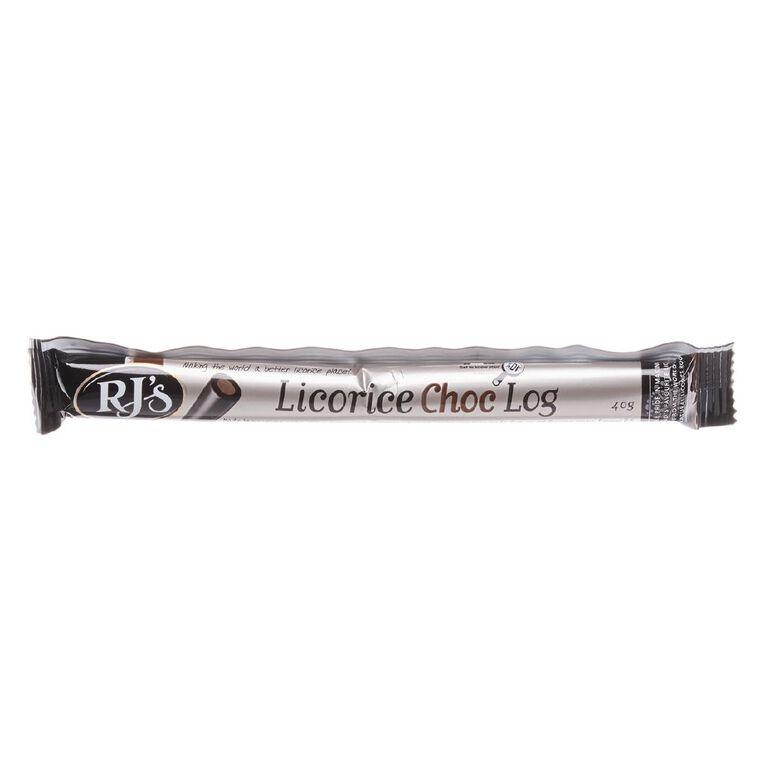 RJ's Choc Log Single 40g, , hi-res