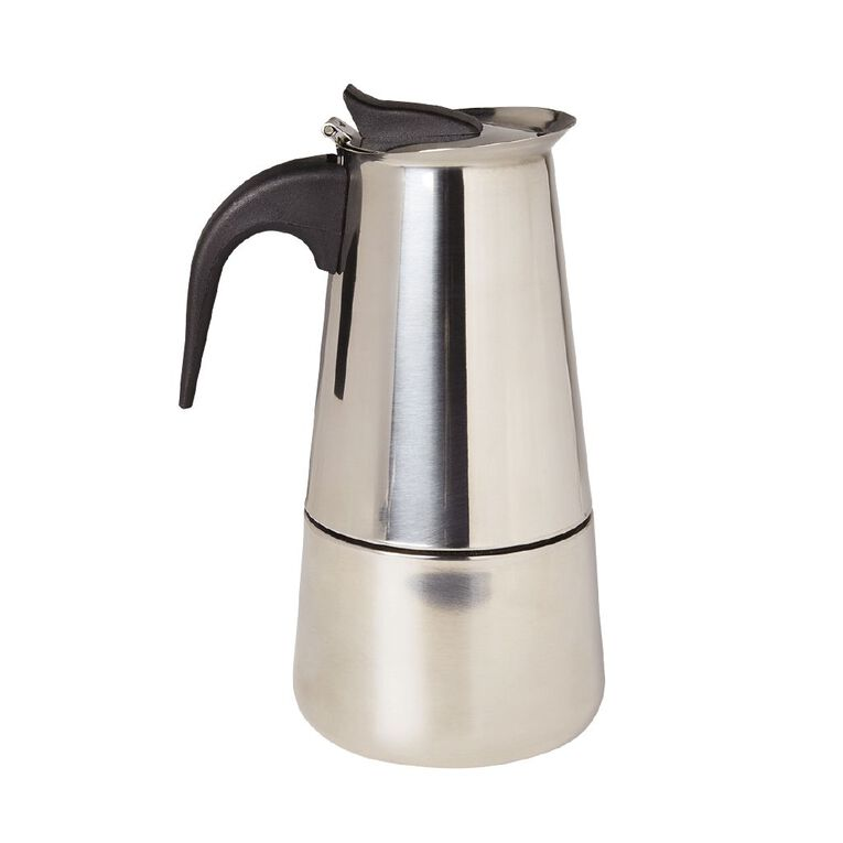 Living & Co Stainless Steel Stove Top Coffee Maker, , hi-res