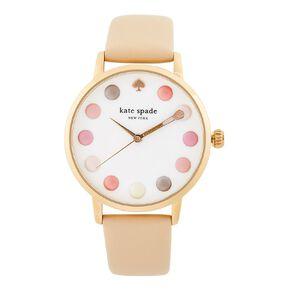Kate Spade Metro Makeup White Dial Watch