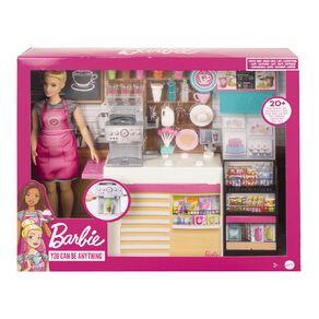 Barbie Coffee Shop Playset