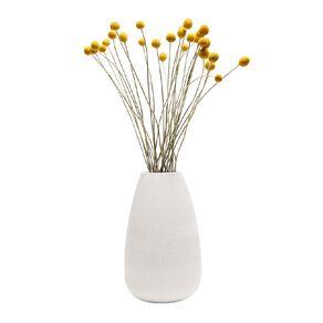 Living & Co Ceramic Bulb Vase White 30cm