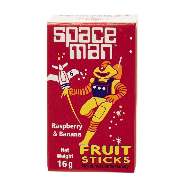 Carousel Space Man Fruit Candy Sticks 16g, , hi-res