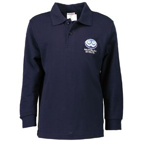 Schooltex Waterlea Primary Long Sleeve Polo with Embroidery
