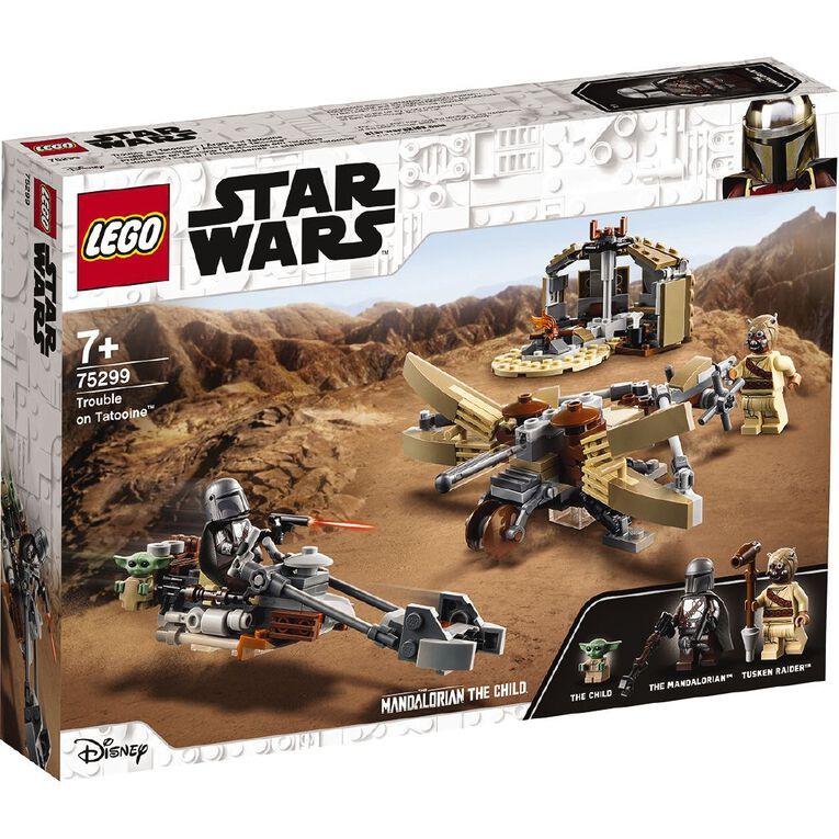 LEGO Star Wars Trouble on Tatooine 75299, , hi-res