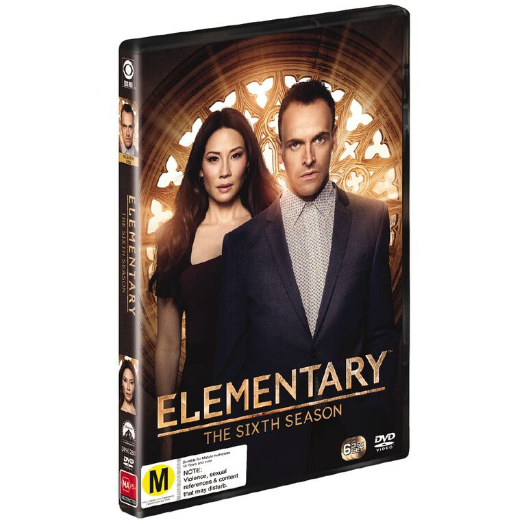 Elementary Season 6 DVD 4Disc, , hi-res