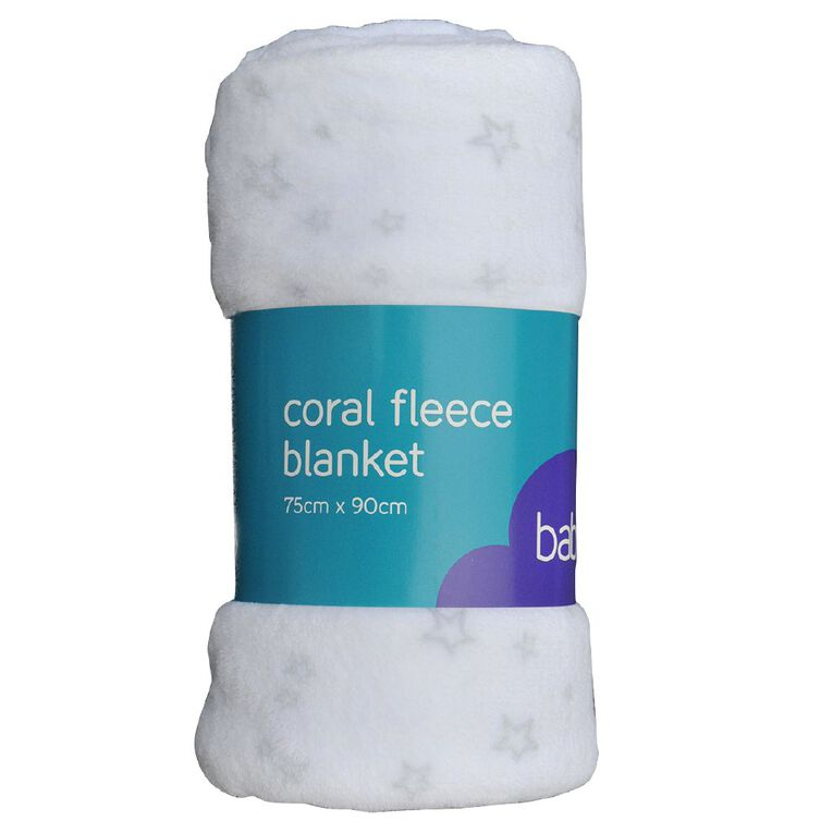 Babywise Coral Fleece Blanket Star, , hi-res