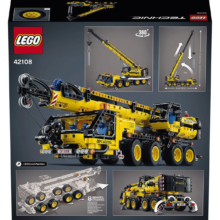 LEGO Technic Mobile Crane 42108, , hi-res