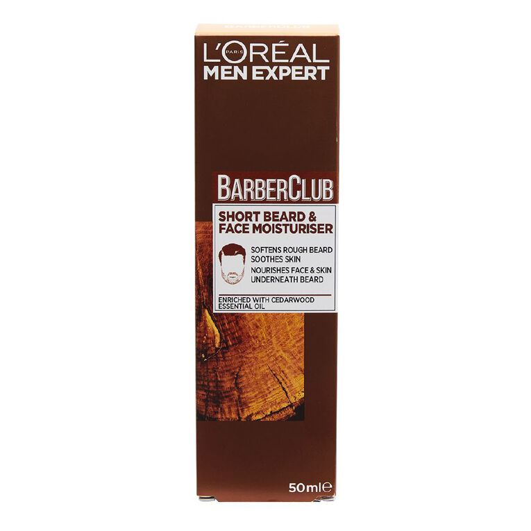 L'Oreal Paris Men Expert Barber Club Beard & Face Moisturiser 50ml, , hi-res