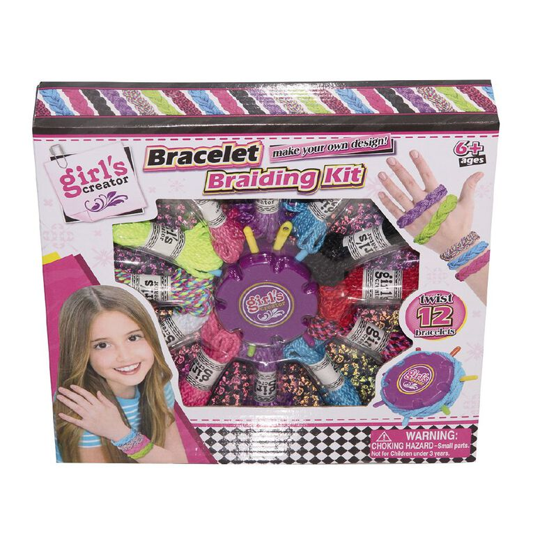 Play Studio Bracelet Braiding Kit, , hi-res