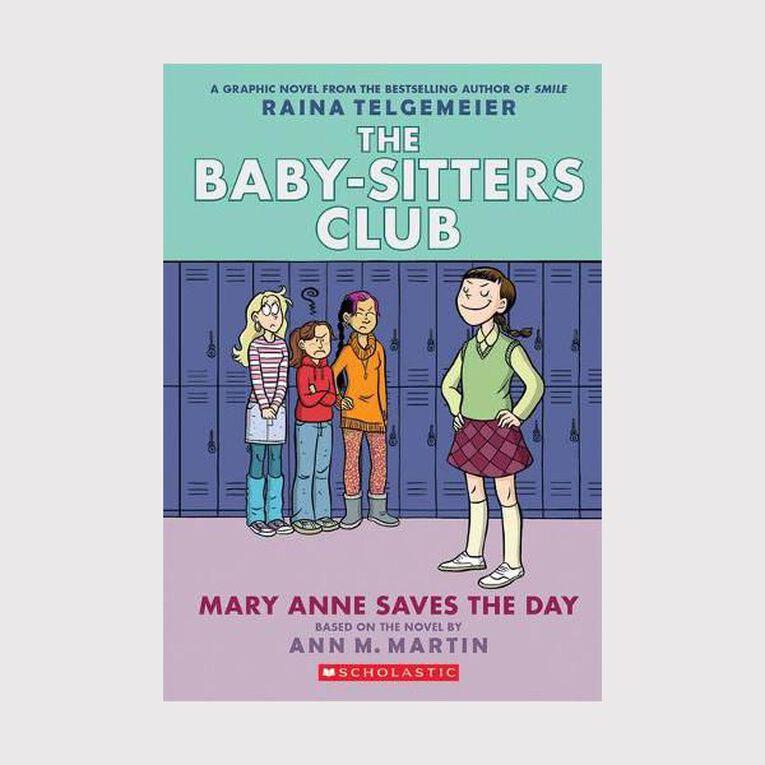 Baby-Sitters Club Graphix #3 Mary Anne Saves the Day by Raina Telgemeier, , hi-res