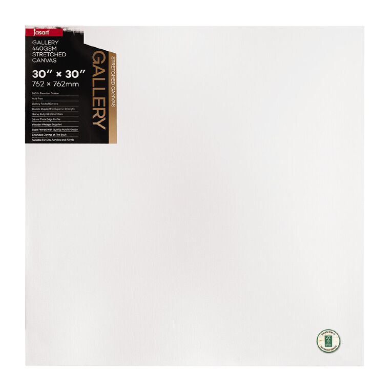 Jasart Gallery 1.5 inch Thick Edge Canvas 30x30 inches, , hi-res