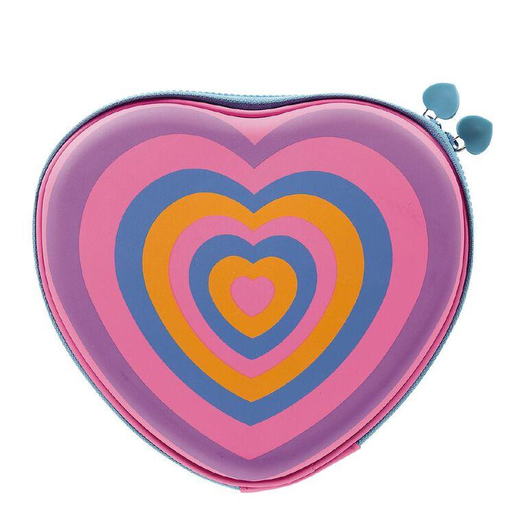 Kookie Novelty20 Heart Hardtop Pencil Case, , hi-res
